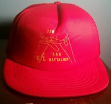 Vintage WW2 Snapback Trucker Hat Bomber 359th AAA Searchlight S/L