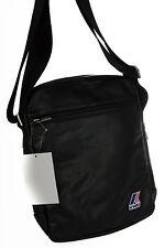 Borsa tracolla bag K-WAY a.3BKK4603 MEDIUM AMMO 26x20x5 col.A2 NERO BLACK