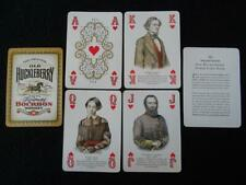 Playing Cards Old Huckleberry Kentucky Bourbon American Civil War Advertising