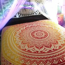 Indian Estrella Pared Colgante Hippie Tapiz De Mandala Doble Étnico Colcha