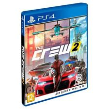 *NEW* The Crew 2 (PS4, 2018) Eng,Russian,German,Italian,French,Spanish