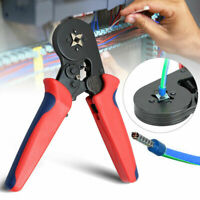 Adjusting Terminal Crimping Tool Ferrule Crimper Wire End Cord Pliers 0.25-10mm²