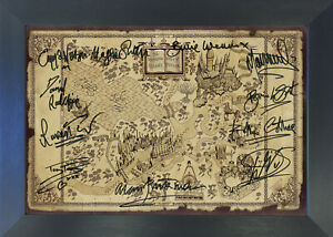 HARRY POTTER MARAUDERS MAP Signed Reproduction Autograph Photo Prints A4 742