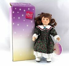 Russ - Porcelain Doll of the Month - December - Tori in Box #23012 with Stand