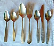 Mixed Lot of Railway and Aviation Flatware 7 Pieces, Newfoundland Railway