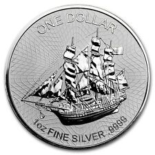 2017 1 oz Cook Islands Silver Bounty Coin Version 2 (BU)