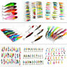 11Type Mini Mixed Fishing Lures Pike Salmon Crank Spinners Baits Bass Trout Hook