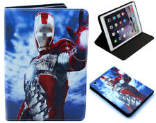 Per Apple iPad 2 3 4 IRON MAN MARVEL COMICS DC Avengers STAND SMART CASE COVER