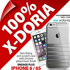 X-Doria 'Engage Plus' Silver Case Hard Clip On Slim Case for Apple iPhone 6 / 6S