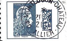Nou FRANCE 2018 - ADHESIF Marianne l 'engagée EUROPE (Obl Beau cachet rond )