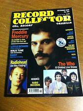 QUEEN FREDDIE MERCURY COVER RECORD COLLECTOR MUSIC MAGAZINE NOVEMBER 2000 NO 255