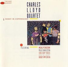 CHARLES LLOYD QUARTET A Night In Copenhagen 1984  vinyl LP EXCELLENT CONDITION