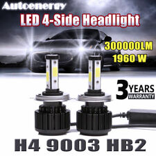 H4 Hb2 9003 Led Headlight 1960W 300000Lm 6000K Kit Bulb Super Bright Hi/Lo Beam (Fits: Scion xA)