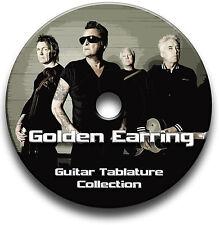 GOLDEN EARRING Rock Guitar Tab Tablature Song Book CD