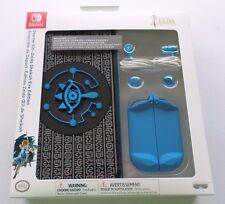 NEW Nintendo Switch Starter Kit Legend of Zelda Sheikah Eye Edition Case Earbuds