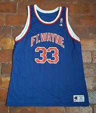 VTG 90s ~Champion Basketball Jersey~ Throwback Pistons ~Grant Hill~ 52 ~FT WAYNE