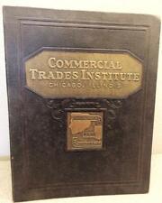 Vintage 1948 Automotive Mechanics Chicago Commercial Trades Institute Books 1-40