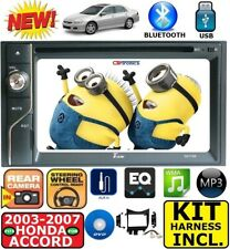 FITS/FOR 03-07 HONDA ACCORD TOUCHSCREEN CD DVD USB AUX SD BT RADIO CAR STEREO
