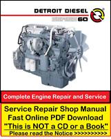 Detroit Diesel Series 60 Repair Service Workshop Manual Download + DDEC