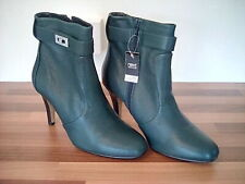 NEXT LEATHER GREEN ANKLE SHOE BOOTS NEW  SIZE 8  EU 42
