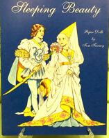 Sleeping Beauty PAPER DOLLS BOOK Original Vintage Clothes Uncut Doll VTG NEW