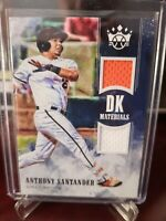 2018 Panini Diamond Kings DK Materials Anthony Santander #DKM-AS Rookie
