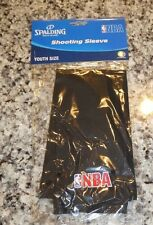 NBA shooting sleeve youth size basketball black new with tags arm band