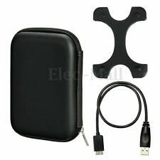 Case Bag+Micro USB 3.0 Cable+Silicone Cover For 2.5'' WD Seagate HDD Hard Disk