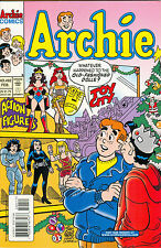 Archie #492 - Archie Comics, February 2000 - Stan Goldberg cover, Action Figures