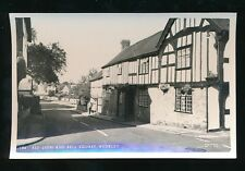 Herefordshire WEOBLEY Red Lion & Bell Square c1960s? PPC