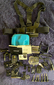 GoPro HERO3+ Black Edition Action Camera MINT +  Accessories Bundle