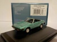 Model Car, Triumph TR7, AQUA,  1/76 New