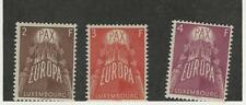 Luxembourg, Postage Stamp, #329-331 Mint NH, 1957 Europa