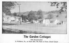 Wellsboro Pennsylvania Garden Cottage Street View Antique Postcard K98326