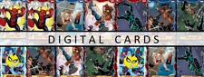Topps Marvel Collect SWINGING IN THE STREETS [14 CARD RED/BLUE SET]