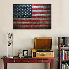 3D USA Flag 123 Wall Stickers Vinyl Murals Wall Print Decal Deco Art AJ STORE AU