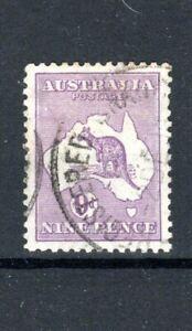 Australia 1915 9d Kangaroo Die II  FU CDS