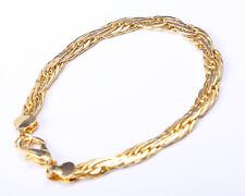 Vintage 1980s Gold Plated Bracelet