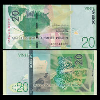 St Thomas & Prince 20 Dobras, 2016, P-72, Banknotes, UNC