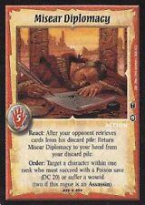 Warlord CCG - Warlord Saga of the Storm: Misear Diplomacy (Fixed Action BB2)