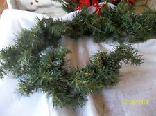 5ft Vintage faux pine garland/Christmas garland/Holiday decor/Wreath supplies