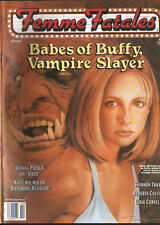 FEMME FATALES MAGAZINE: BABES OF BUFFY, VAMPIRE SLAYER, SARAH M. GELLER VOL.7 #5