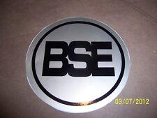 "3.5"" Dia. Moto-Ski BSE Engine Recoil Sticker ( NEW Black and Silver Vinyl )"