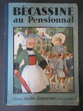 Ancienne BD Bécassine au pensionnat 1928 La semaine de Suzette old child book
