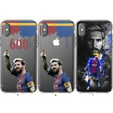 Soccer Lionel Messi 600TH Silicone Phone Case For iPhone 11 Pro Xs Max XR 8 7 6+