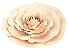Decor In The Box - Tan Color Handmade Paper Flower 12 inch Fully Assembled