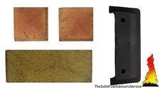 Tiger & Tiger Plus Stove baffle plate & Brick set genuine parts bricks throat