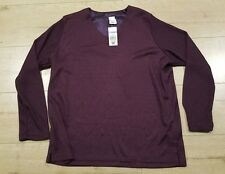 Ladies top Size 14 Tunic Top Long Sleeve Sheer Target 🖤