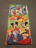 Authentic Vintage Walt Disney Mickey's Playground Sleeping Bag Minnie Mouse