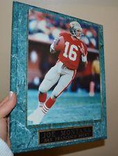 "Joe Montana Picture Framed San Francisco 49er's 10.5"" by 13"""